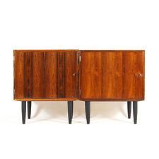 1 de 2 rétro vintage Danish Modern Hundevad palissandre buffet armoire 60 s 70 s