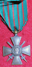 XM49 French Military WW1 Croix de Guerre dated 1917, Cross of War