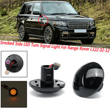 Smoked Side LED Turn Signal Light For Land Range Rover L322 2002-2012