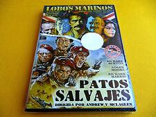 LOBOS MARINOS / PATOS SALVAJES - The Sea Wolves / The Wild Geese - Precintada