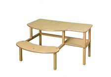 Child's wooden desk for one or two kids ages 5-10