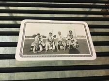 original 1937 PALESTINE PALS EAST TEXAS BASEBALL LEAGUE PLAYERS 3 1/8 X 5 PHOTO