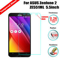 9H Premium Tempered Glass LCD Screen Protector Film Cover for Asus Zenfone Phone