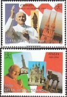 Vatikanstadt 1161-1162 (kompl.Ausg.) postfrisch 1995 Weltreisen