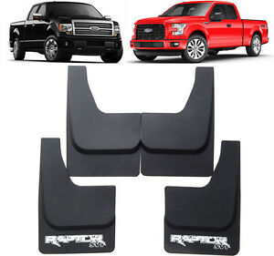 New OEM Set Splash Guards Mud Flaps FL3Z-16A550 FOR 2005-2021 Ford Raptor F-150
