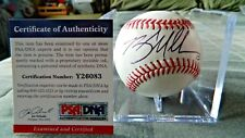 Brad Miller Signed MLB Baseball (Seattle Mariners, PSA/DNA Y26083, High Desert)