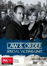 Law And Order - Special Victims Unit : Season 5 (6-Disc Set) New Unsealed D228