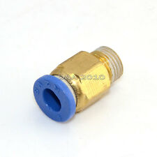 "Male 1/8"" - 6mm Straight Push in Fitting Pneumatic Push to Connect Air"