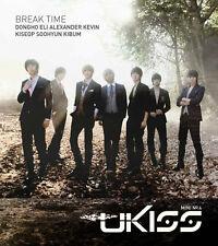 U-KISS UKISS - Break Time (4th Mini Album) [CD+50p Photo Booklet]