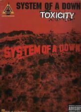 SYSTEM OF A DOWN  Toxicity  sheet music songbook