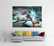 Street Fighter X Tekken Xbox Ps3 Gigante Pared Arte Imagen Foto impresión de cartel J110