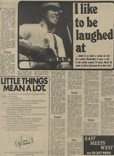 M14/9/74PM30 Loundon wainwright : I like to be laughed at Article & Picture(s)