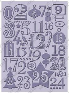 Cuttlebug 5x7 Embossing - Christmas Countdown - 37-1926