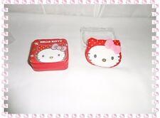 Ensemble  Boite à Bijoux et Petit Miroir Hello Kitty Samrio Neuf