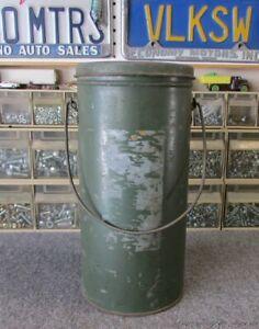 Vintage Coleman Lantern Green 242 Handy Pail
