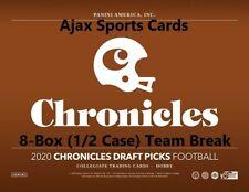 2020 Panini Chronicles Draft Picks Football DALLAS COWBOYS 8-Box Team Break