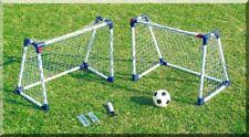 GIOCHI all'aperto Mini Twin Set Per Bambini Calcio un obiettivo di calcio Cornici per bambini Pali