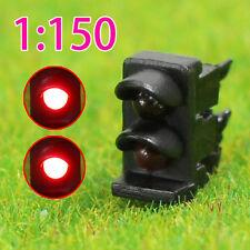 JTD1501RR Neu 5 Stk. Ampeln LED Signal Lichtsignal 12V rot/rot N