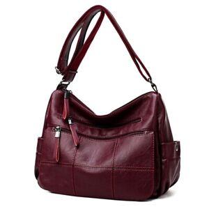 Women Bag Handbag Leather Shoulder Crossbody Bags Tote Purse For Ladies Handbags