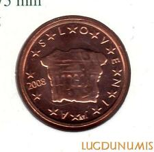 Slovénie 2008 - 2 Centimes d'Euro 148000 exemplaires Provenant du coffret BU RAR