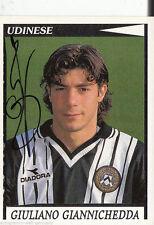 Giuliano Giannichedda Udinese Calcio Panini Sammelbild 1998-99 TOP +A41606