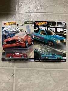 Hot Wheels Fast Furious Motor City & Car Culture F-150 Lightning Nissan Hardbody