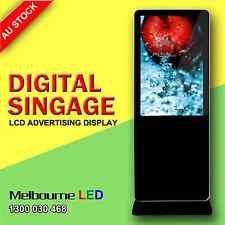 "42"" HD Floor Standalone Digital LCD Advertising Player Display Screen USB Kiosk"