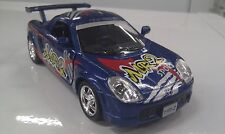 Toyota MR2 Azul KINSMART Coche Juguete Modelo 1/32 Escala Coche de metal