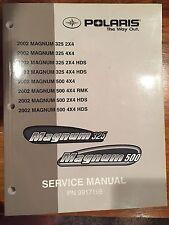 2002 Polaris Magnum 325 & 500 Service Manual PN: 9917198