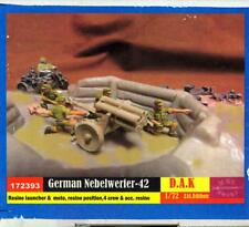 BUM Models 1/72 GERMAN AFRIKA KOPRS NEBELWERFER with CREW Figure Set