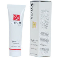 REXSOL Vitamin C-10 Treatment  Anti-Aging Cream