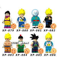 Ship In USA - 8 Pcs Lego Minifigures MOC Minifigures Characters In The Movie 7