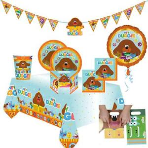Official Hey Duggee Birthday Party Supplies Napkins Balloon Plates Decorations