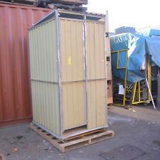 Site relocatable portable toilet push pull flush dunny