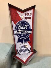 Rocket Pabst Blue Ribbon Beer Bar Room Neon Lamp Miller LIGHT BULB Arrow Sign