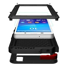 Sony Xperia Z3 plus Outdoor Case Gorilla Glas wasserfest schwarz