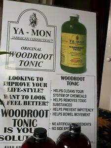 Ya Mon Original Woodroot Tonic - Enhance Quality of Life..