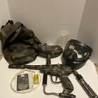 Brass Eagle Xplorer Paintball Gun  - Camo Painted, Mask, Tank, Bag, Empty Tank