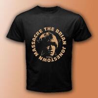 The Brian Jonestown Massacre American Rock Band Black T-Shirt Size S-3XL Mens