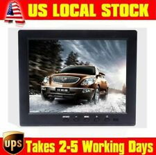 "8"" TFT LCD 4:3 Color Monitor Screen Display VGA BNC AV HDMI Input for PC CCTV DV"