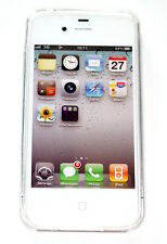 Apple iPhone 4 4s TPU Back Case Handy Hülle Tasche Soft Cover Transparent Klar