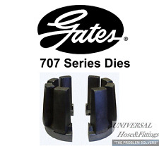 NEW GATES HYDRAULIC HOSE CRIMPER 707 DIE SET # 733 POWER CRIMP