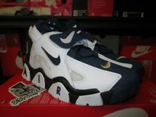 NIKE AIR BARRAGE MID WHITE MIDNIGHT NAVY BLACK AT7847 101 NEW SZ 13