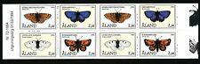 Aland  Finland 1994 Booklet Butterflies.  MNH