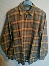 Vintage Men's Pendleton 100% Wool Sz M Flannel Made in Usa