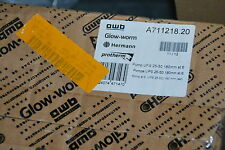 AWB GLOW-WORM A711218.20 PUMPE UPS 25-50 180 mm ST6 POMP NEU