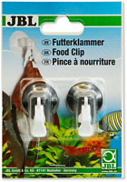 JBL Food Clip x2 Veg Feeder Aquarium seaweed Fish Tank Suction Holder marine