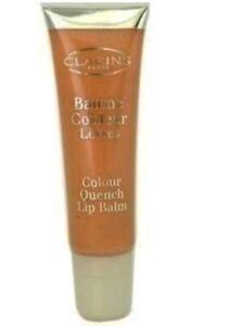 CLARINS  colour quench lip balm, # 01 butterscotch