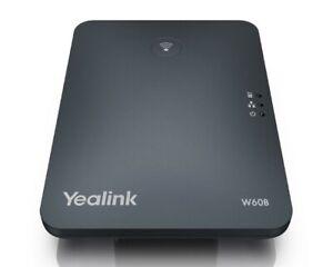 Yealink SIP-W60B DECT (Basis) 8 zeitgleiche Gespräche/VoIP-Konten VPN NEU OVP