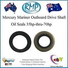 2 x Drive Shaft Oil Seals Mercury Mariner 35hp-thru-70hp # 26-90562 / 26-79831